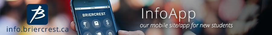 InfoApp for new students