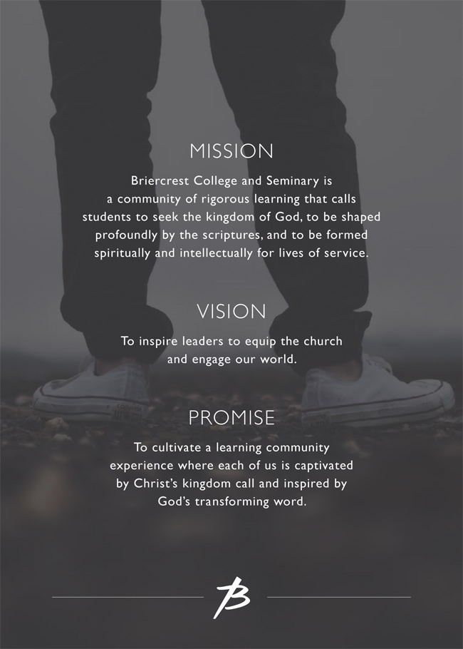 Mission and Vision of Briercrest College