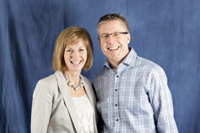 Dr. Michael B. Pawelke and his wife Linda